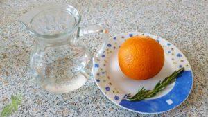 Lichiorul de rozmarin si portocala