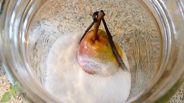 Tuica de para cu vanilie