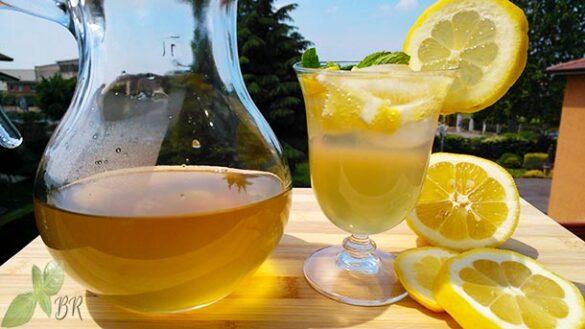 Ginger Lemon Cocktail