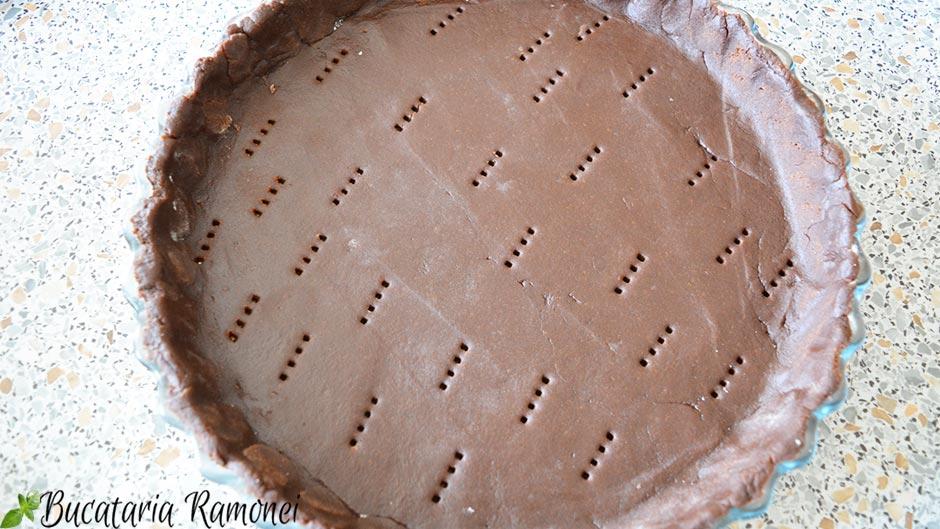 Aluat fraged cu cacao