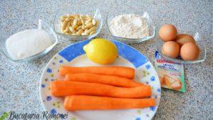 Prajitura cu morcovi si migdale