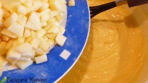 Sbriciolata cu crema de lamaie si mere