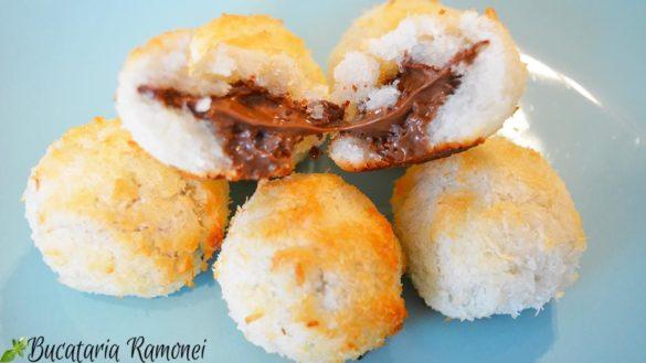 Bilute rapide cu nuca de cocos si nutella