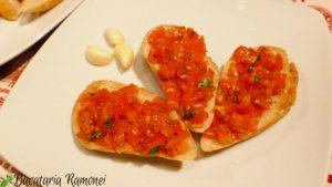 Bruschette-cu-rosii