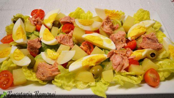 Salata nizzarda (nicoise)
