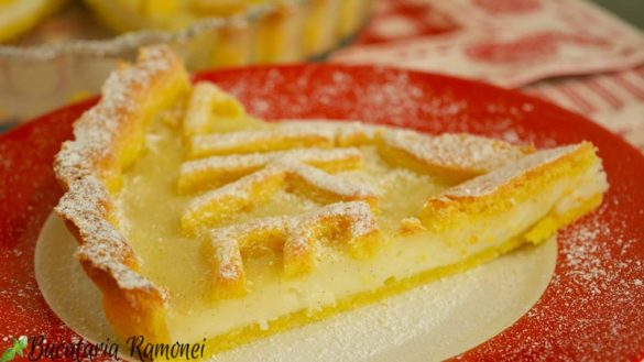 Tarta cu crema de lapte