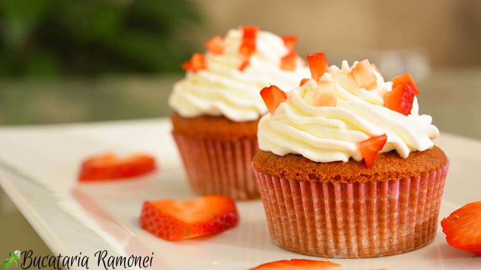 Red velved cupcake