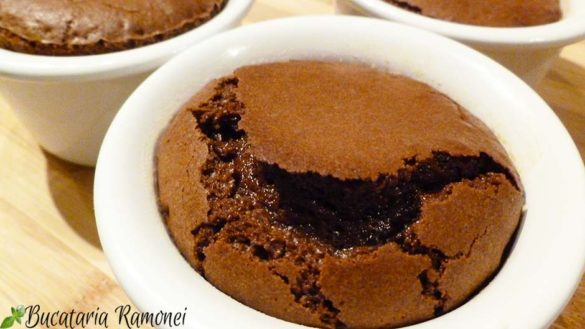 Sufleu de ciocolata