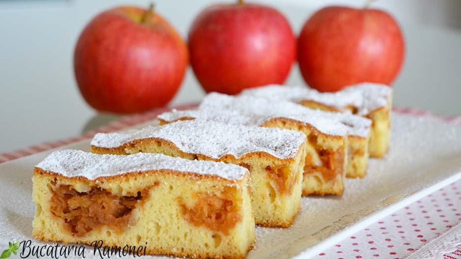 Prajitura cu dulceata de mere