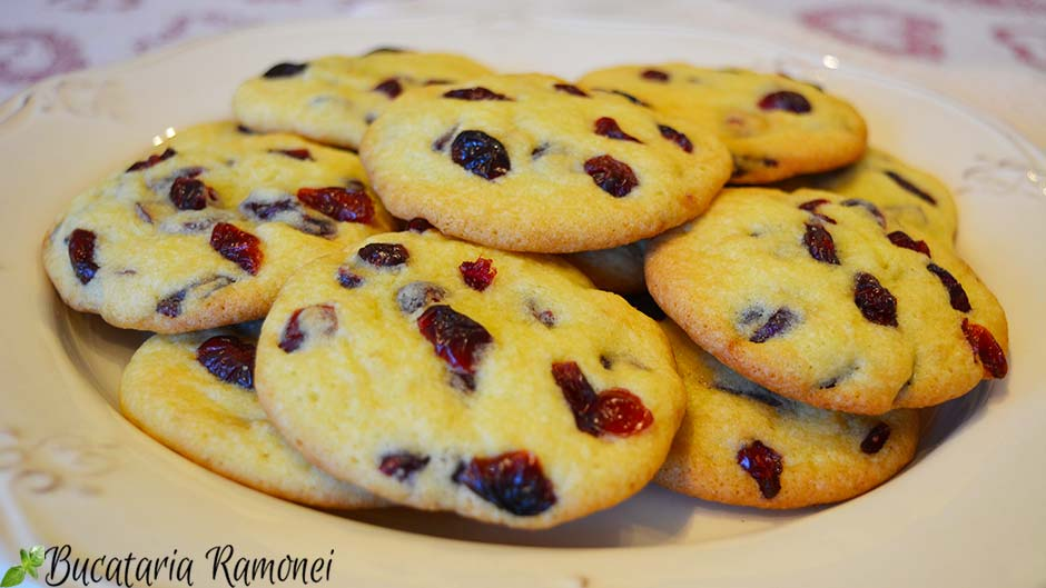 Cookies cu merisoare