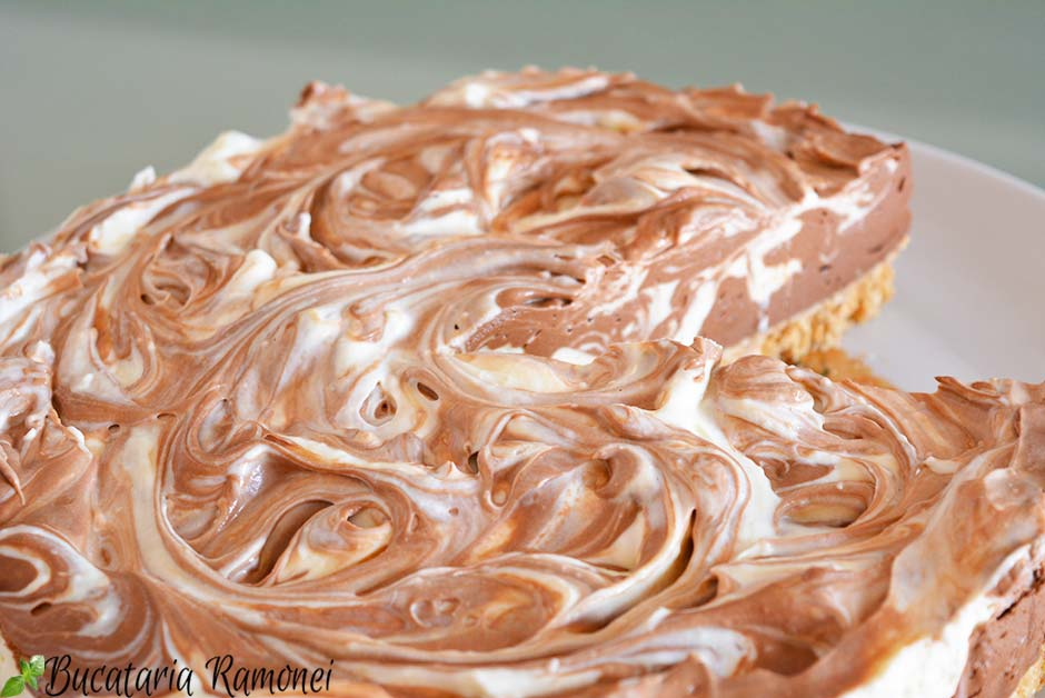 Cheesecake marmorat