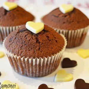 Cupcake cu ciocolata