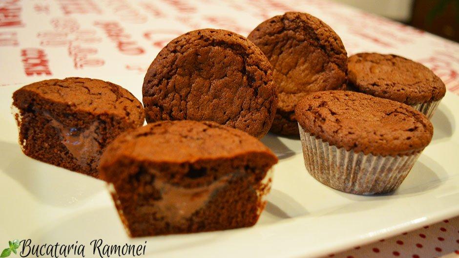 Cupcakes cu ciocolata si cafea