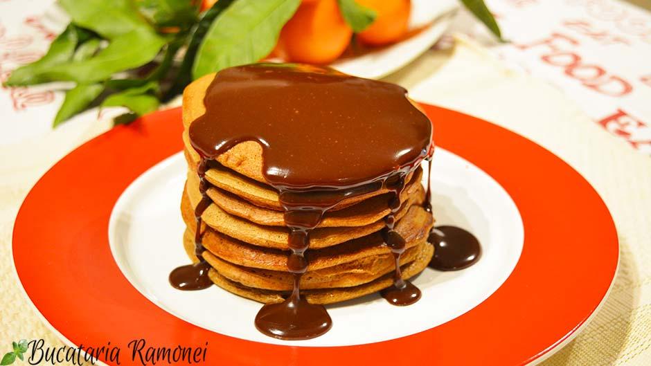 Pancakes cu cafea