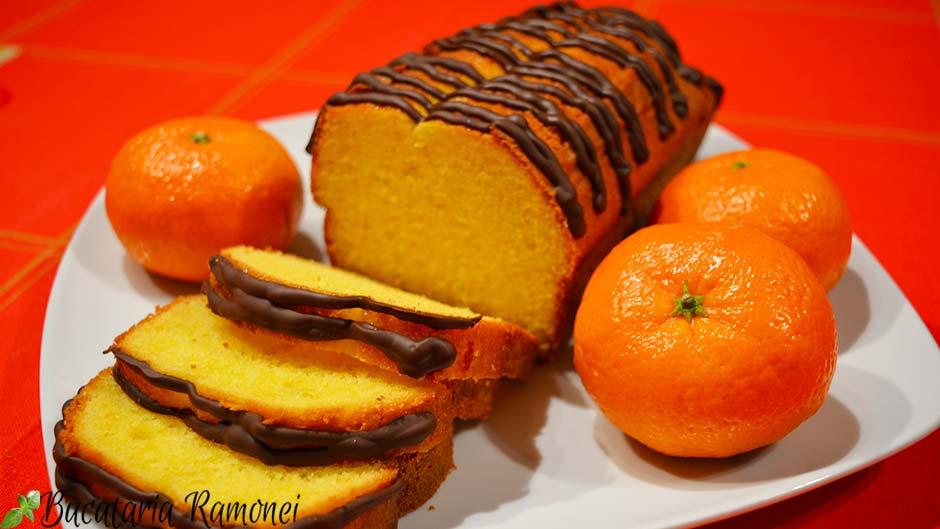 Plumcake cu mandarine