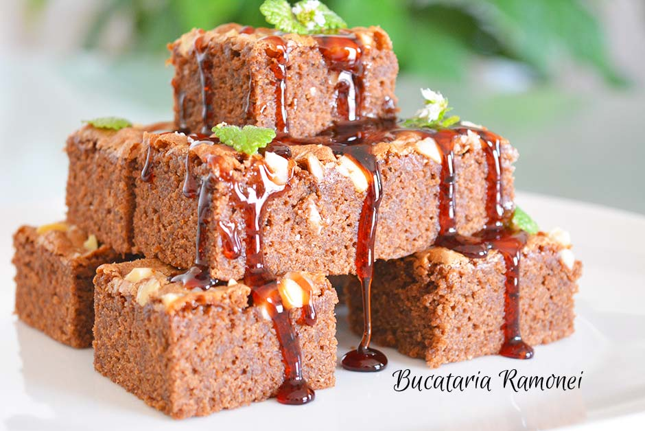 Brownies cu ciocolata tartinabila