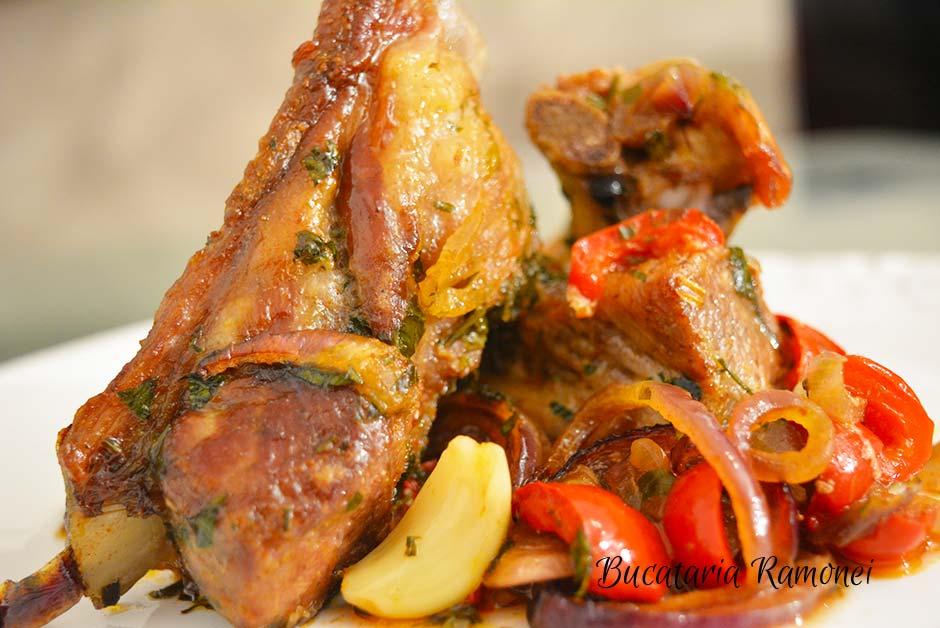 Costite de porc alla madrilena