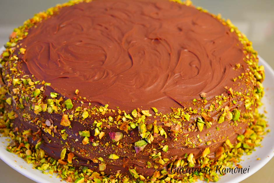 Tort cu ciocolata si crema de mascarpone