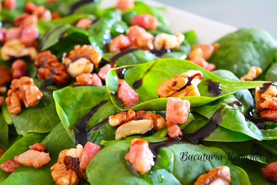 Salata de spanac