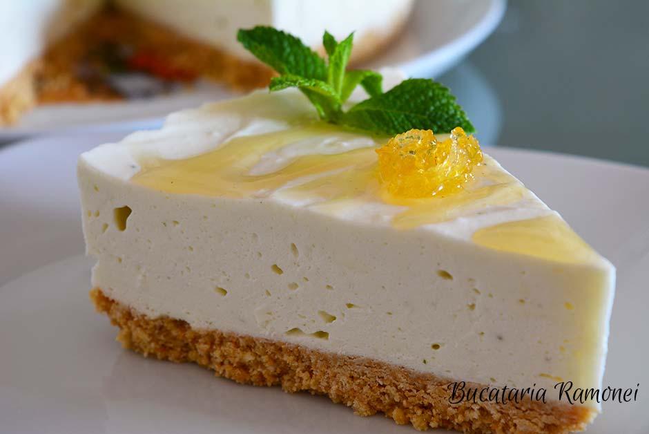 Cheesecake cu menta