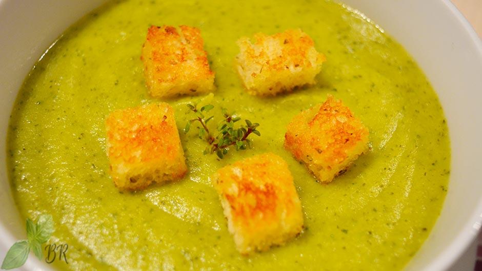 Supa crema de broccoli