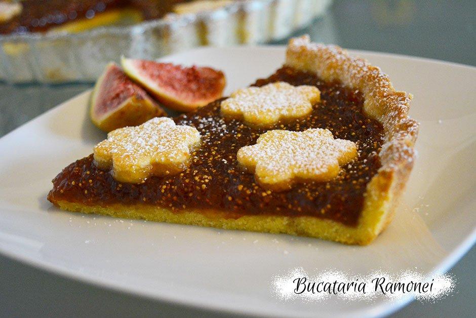 Tarta cu dulceata de smochine