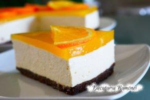 Cheesecake cu portocale si scortisoara