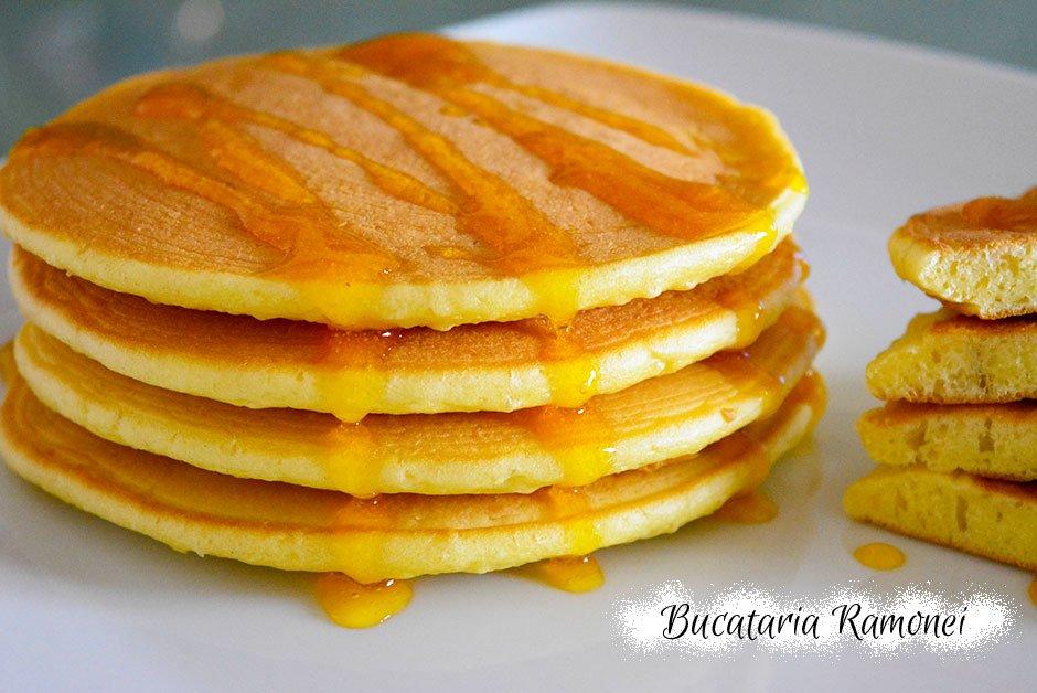 Pancakes cu iaurt