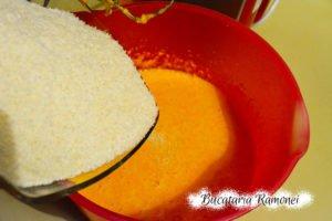 Prajitura cu dovleac si nuca de cocos
