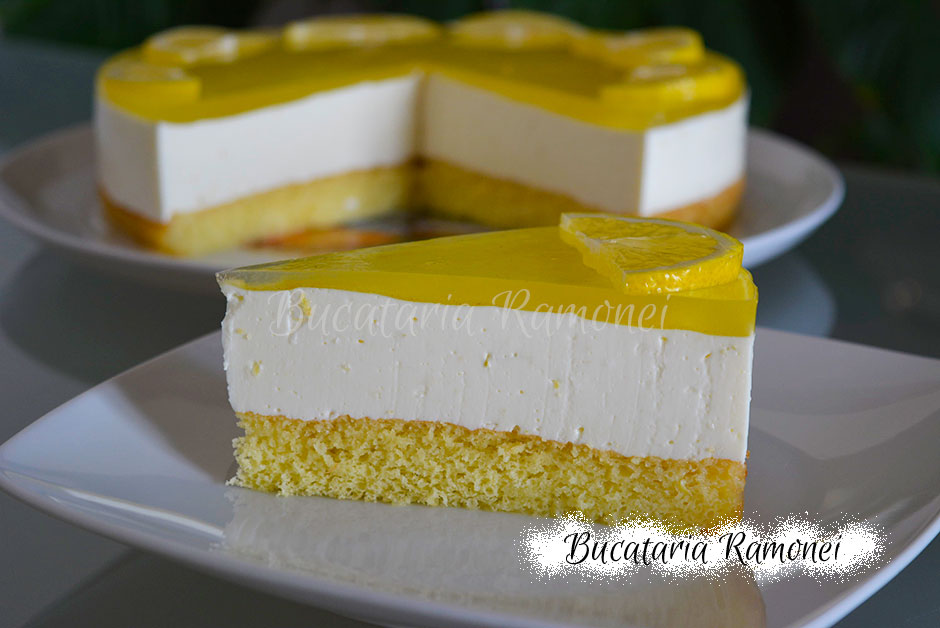 Tort cheesecake cu lamaie