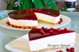 Cheesecake cu rodie
