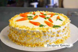 Tort de morcovi si nuci