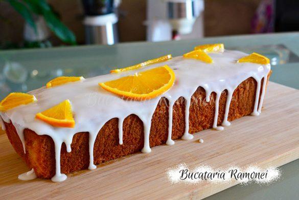 Plumcake cu portocale