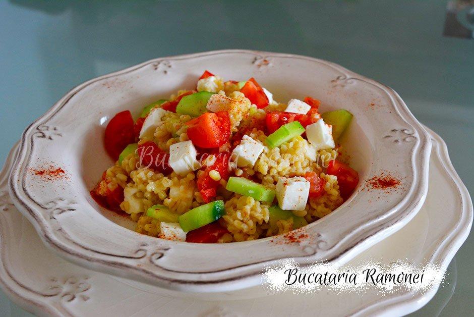 Salata de bulgur