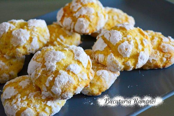 Biscuiti crapati cu portocale